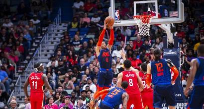 Nba: Westbrook devastante ma non basta contro New Orleans, i Knicks tornano al successo