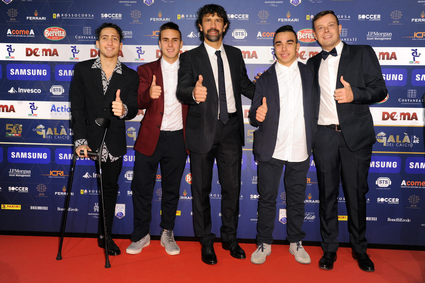 Gran Galà del Calcio, il red carpet