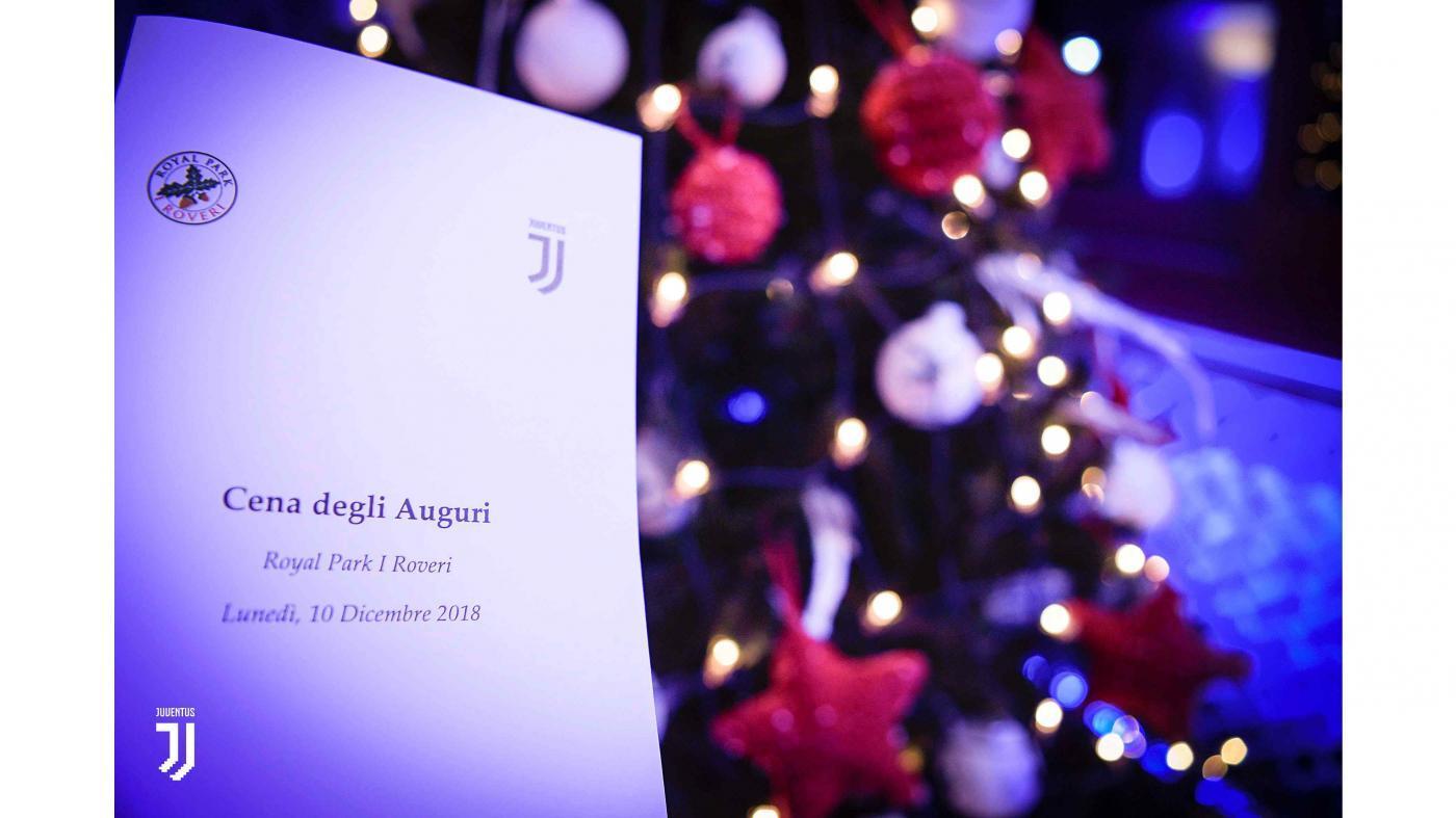 La Juve festeggia il Natale
