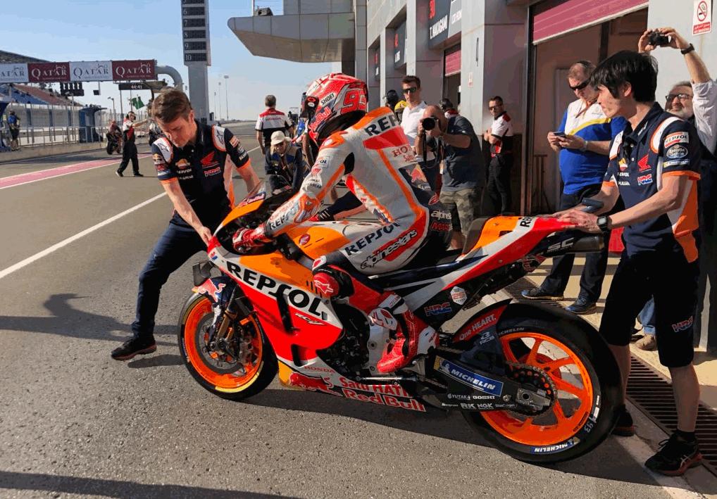La MotoGP torna in pista