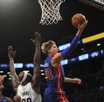 Detroit Pistons-Brookly Nets, Reuters
