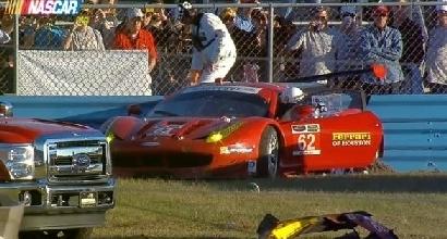 Daytona, terribile schianto: paura per Malucelli, ma sta bene