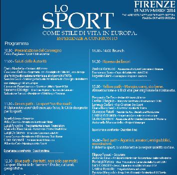 Sport 3.0 Foundation: il primo convegno a Firenze