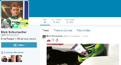 Mick Schumacher su Twitter: ma è solo un fake