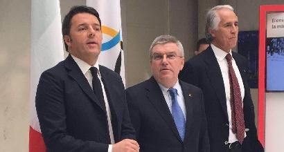 """Roma 2024, Renzi: """"Candidatura fortissima, vogliamo vincere"""""""