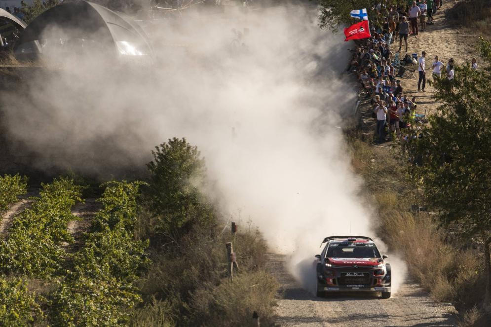 Meeke vince in Spagna, Ogier ipoteca il Mondiale