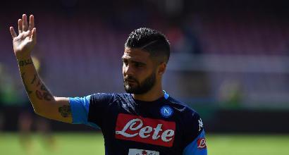 Napoli: Insigne salta la Fiorentina