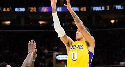 Nba, i Lakers interrompono la striscia di Houston