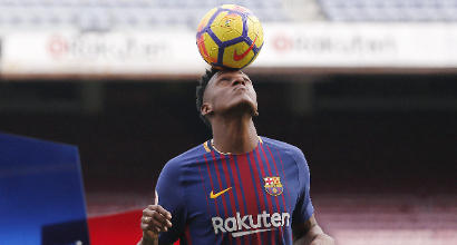 """Barcellona, Yerry Mina si presenta: """"Un sogno, Messi da pelle d'oca"""""""