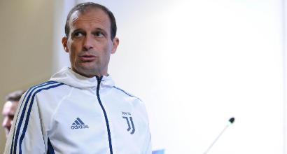 """Juve, Allegri: """"Favoriti col Tottenham? No, è un 50/50"""""""