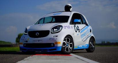 Smart EQ fortwo e-cup, a Misano la prima gara su pista