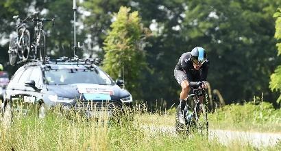 Ciclismo, Moscon si conferma campione italiano a cronometro