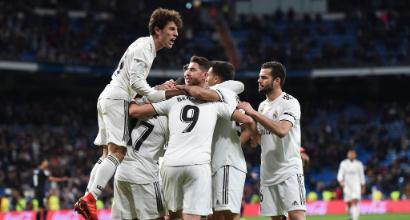 Copa del Rey: il Real Madrid torna a vincere, Atletico Madrid bloccato sull'1-1