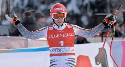 Sci, SuperG di Kitzbühel: vince Ferstl, Paris terzo