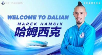 Ufficiale, Hamsik al Dalian