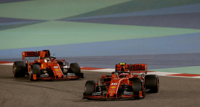 F1 GP Bahrain: Leclerc contravviene l'ordine di scuderia