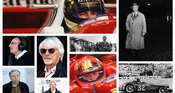 La F1 compie 1.000 GP: i 10 personaggi che hanno fatto la sua storia
