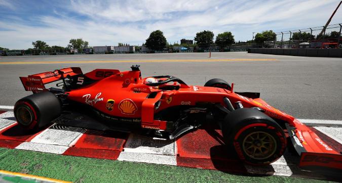 F1, gioia Ferrari in Canada:è pole di Vettel