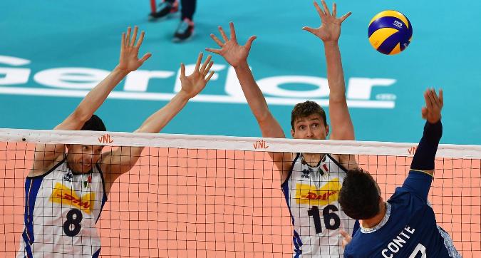Volley, Nations League: l'Italia cade all'Allianz Cloud, l'Argentina vince 3-1