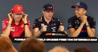 1/e libere a Hamilton, Vettel in scia