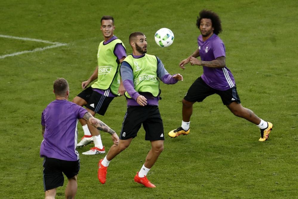 Supercoppa Uefa, la vigilia di Real Madrid-Siviglia