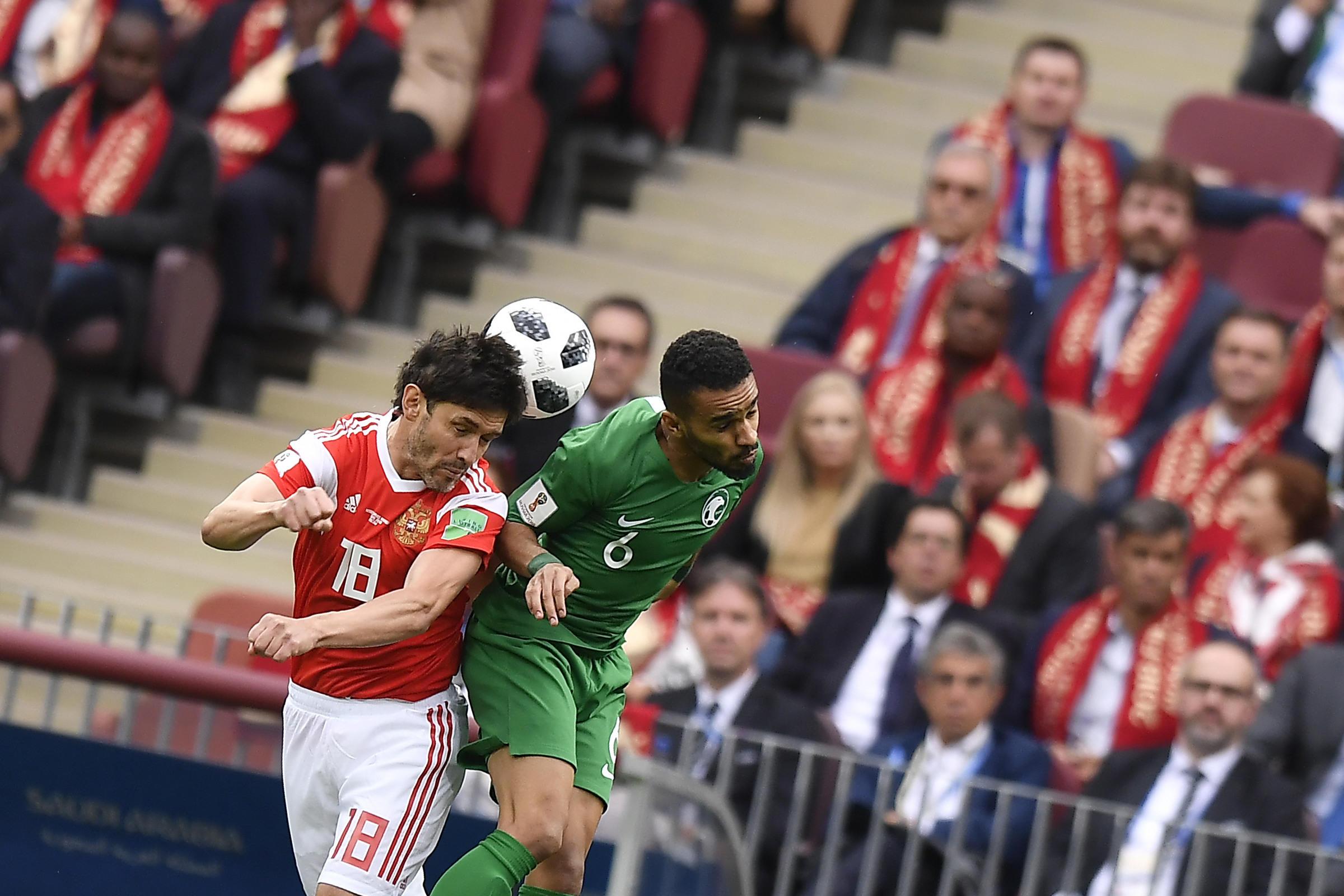 Mondiali 2018, Russia-Arabia-Saudita 5-0: doppietta di Cheryshev