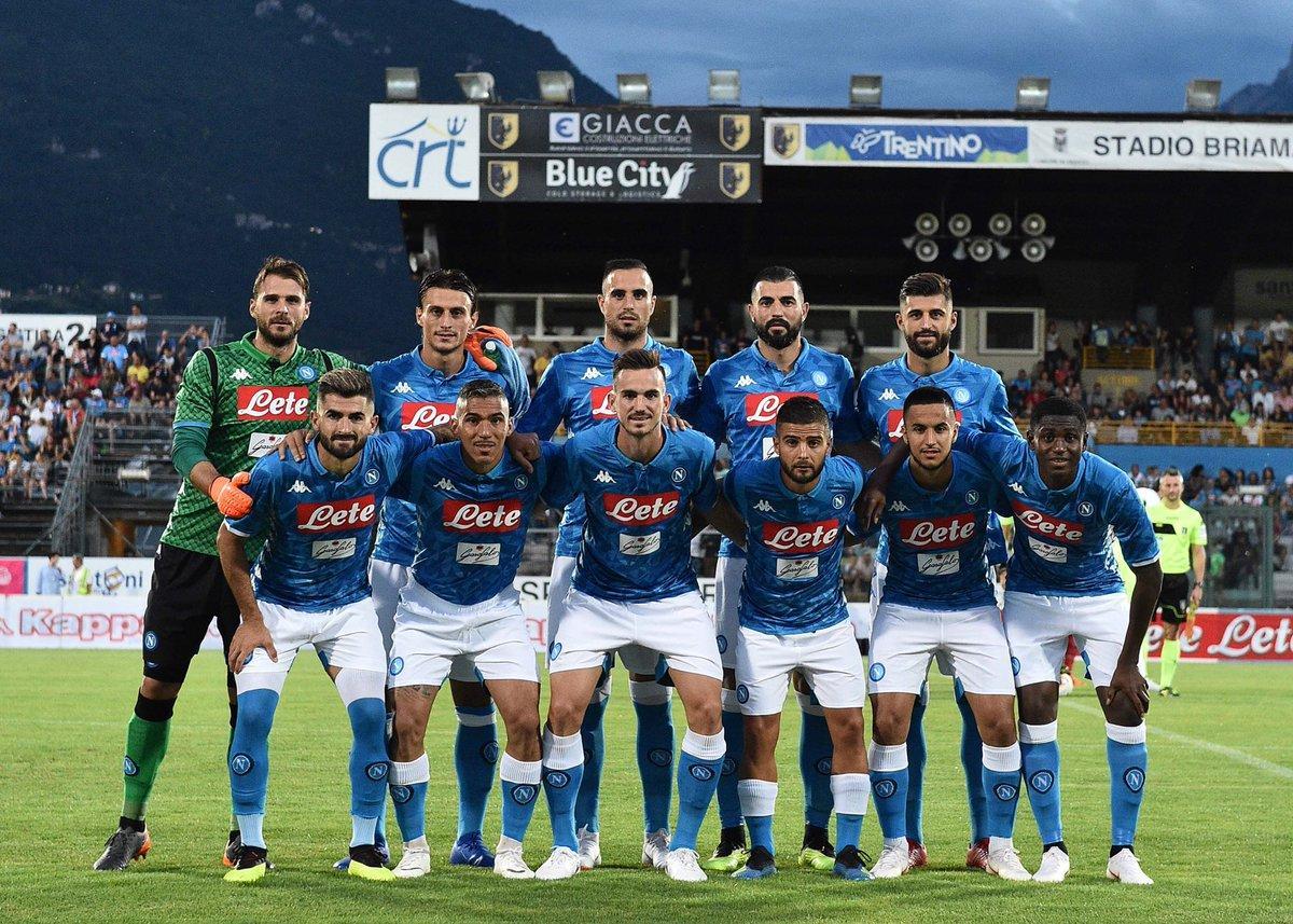 Napoli-Carpi 5-1 in amichevole: le foto del match