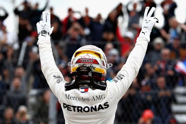 Lewis, pole da campione