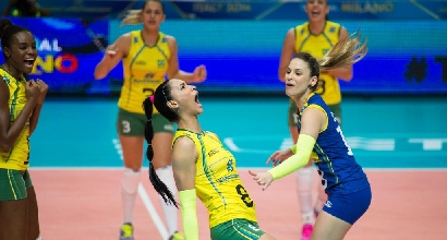 Il Brasile esulta, foto Twitter