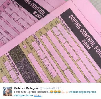 Pellegrini, gaffe social: numero di telefono e indirizzo su Twitter