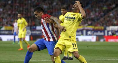 Liga: colpaccio Villarreal, crolla l'Atletico Madrid
