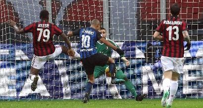 Coppa Italia: il Milan batte l'Inter ai supplementari. E' semifinale