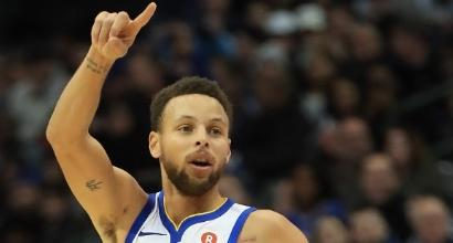 Nba: Curry trascina Golden State