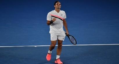 Australian Open 2018, Djokovic e Thiem sul velluto. Berdych surclassa Del Potro