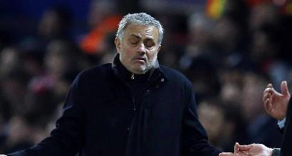 Manchester United, Mourinho si sfoga: