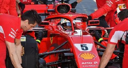 """F1, Vettel: """"Non c'è da preoccuparsi"""""""