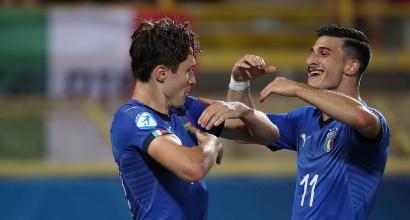 """Europei U21, Di Biagio: """"Vittoria importantissima, Chiesa trascinava anche me"""""""