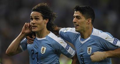 Copa America: Cavani e l'Uruguay beffano il Cile, Ecuador e Giappone si autoeliminano