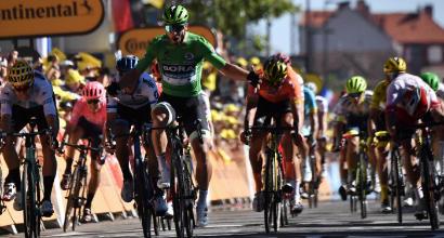 Ciclismo, Tour: Sagan vince lo sprint a Colmar