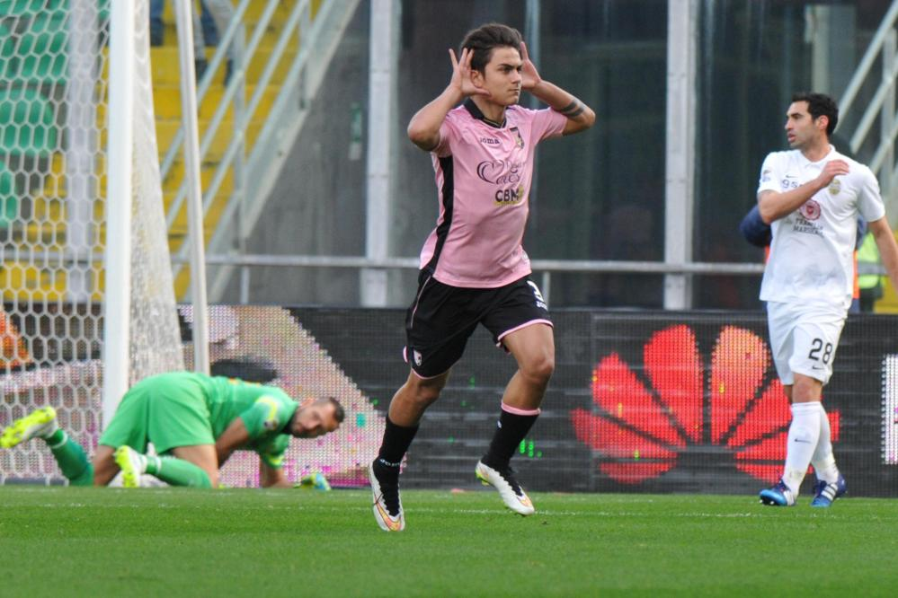 I rosanero battono 2-1 l'Hellas Verona grazie a Dybala e Belotti<br /><br />