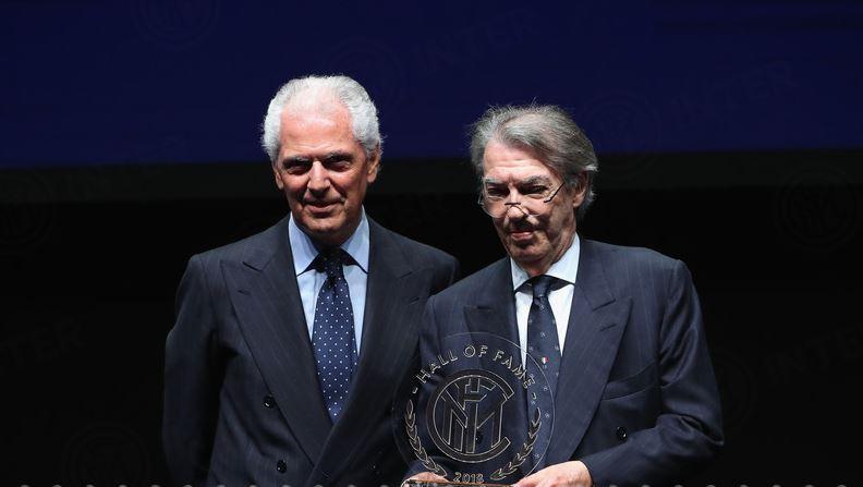 Massimo Moratti con Marco Tronchetti Provera