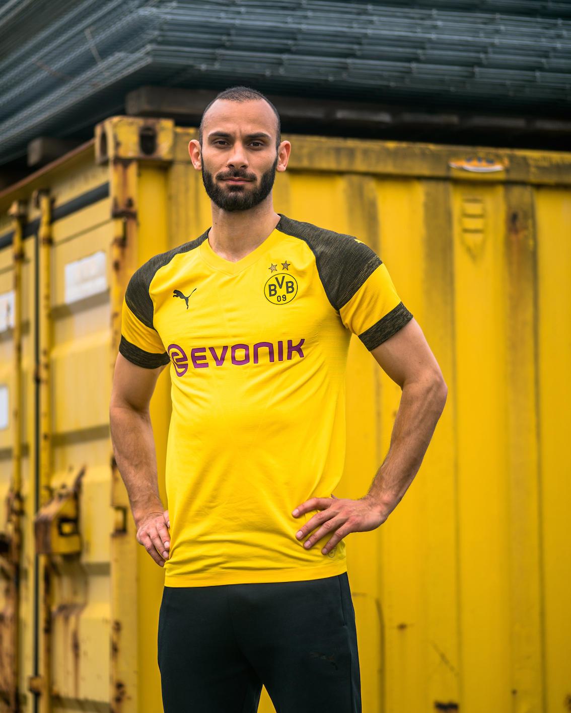 Borussia Dortmund: la maglia 2018/19   Foto - Sportmediaset