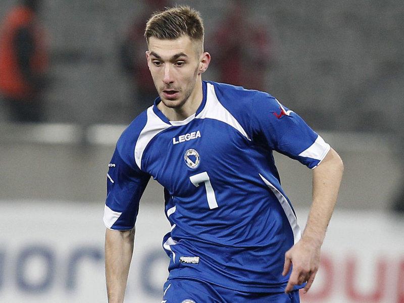 Susic, gennaio 2015: tutto fatto con l'Inter, ma il club nerazzurro poi sceglie Brozovic