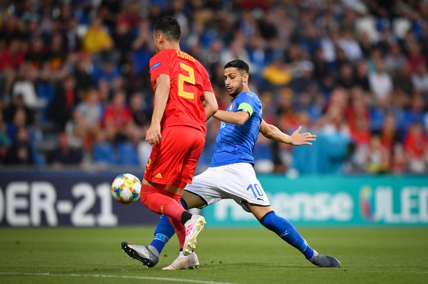 Europei Under 21: le foto di Belgio-Italia 1-3