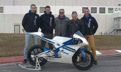 Il gruppo della Moto3 Sherco