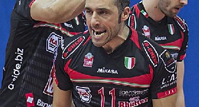 Volley, SuperLega: Modena riparte, la Lube Treia va al tappeto