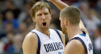 Nba: Bargnani non basta ai Nets, Nowitzki supera Shaq