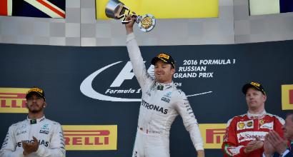 """F1 a Sochi, Rosberg: """"Lewis tornerà forte"""""""