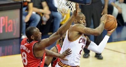 Cavs-Raptors (Afp)