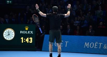 Atp Finals: la prima volta di Murray, Djokovic si inchina al numero uno